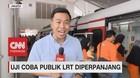 VIDEO: Masih Gratis! Uji Coba LRT Diperpanjang