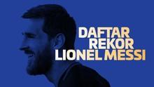 INFOGRAFIS: Daftar Rekor Lionel Messi