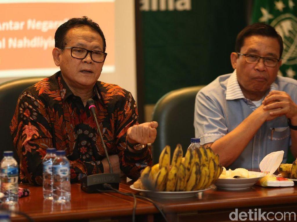 Diskusi digelar di Kantor PBNU, Jakarta, Senin (24/6/2019).