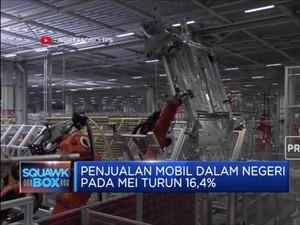 Penjualan Mobil Domestik pada Mei Turun 16,4%