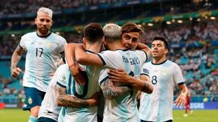 Jadwal Perempat Final Copa America: Venezuela vs Argentina