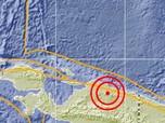 Gempa 6,0 SR Guncang Mamberamo Tengah Papua Pagi Ini