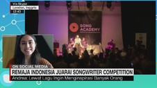 VIDEO: Remaja Indonesia Juarai Songwriter Competition