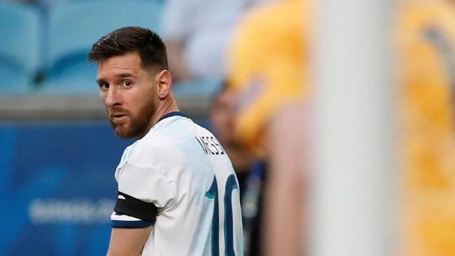 FOTO: Gerak-gerik Messi di Laga Penentu Argentina