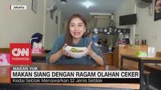 VIDEO: Makan Siang Dengan Ragam Olahan Ceker