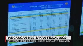 VIDEO: Pemerintah Targetkan Rasio Pajak 11,8%-12,4% di 2020