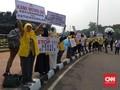 Demo MK, Orator Sindir 'Kecurangan Bagian Demokrasi'