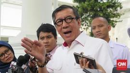 Yasonna Khawatir Napi Koruptor Pesta Pora di Nusakambangan