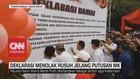 VIDEO: Deklarasi Menolak Rusuh Jelang Putusan MK