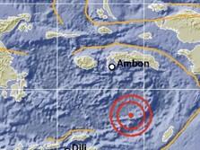 Setelah Papua, Gempa Guncang Maluku Magnitudo 7,7