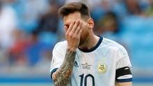Messi Tersingkir dari Best XI Copa America 2019