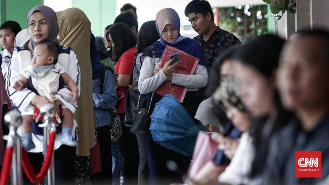 Meski Mengular, Antrean PPDB di SMA 8 Jakarta Kondusif