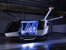 Mengintip Mobil Terbang Hidrogen, Ini Penampakannya