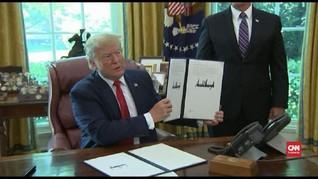 VIDEO: Trump Beri Sanksi Kepada Pemimpin Tertinggi Iran