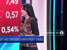 Profit Taking, IHSG Terkoreksi 0,04%