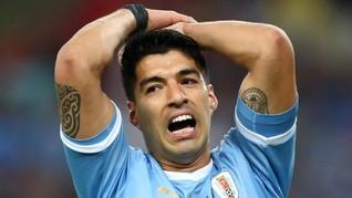 Copa America: Netizen Ejek Suarez Klaim Kiper Chile Handball