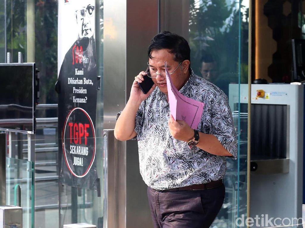 Sri Widodo diperiksa sebagai saksi untuk tersangka Zainudin dalam perkara korupsi pinjaman dana APBD dan pengadaan barang dan jasa di Pemkab Lampung Tengah.