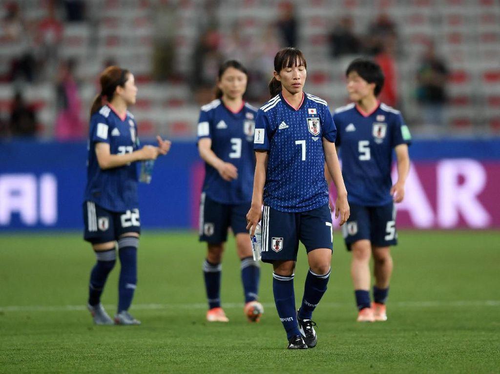 Jepan melaju ke 16 besar dan akan menghadapi Belanda. Jepang adalah juara Piala Dunia 2011 dan runner-up pada 2015. Apakah di edisi kali ini bisa kembali ke final? (Foto: Laurence Griffiths/Getty Images)