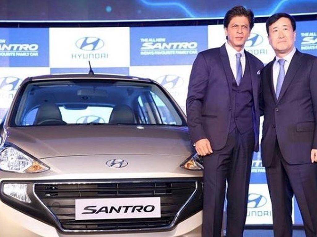 Dari endorsement, SRK mendapatkan 1,6 juta USD untuk tiap brand.Dok. Instagram/iamsrk