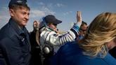 Selanjutnya, McClain dan Saint-Jacques akan dibawa oleh pesawat NASA kembali ke Houston, sementara Kononenko akan kembali ke rumahnya di Star City, Rusia(NASA/Bill Ingalls/Handout via REUTERS)