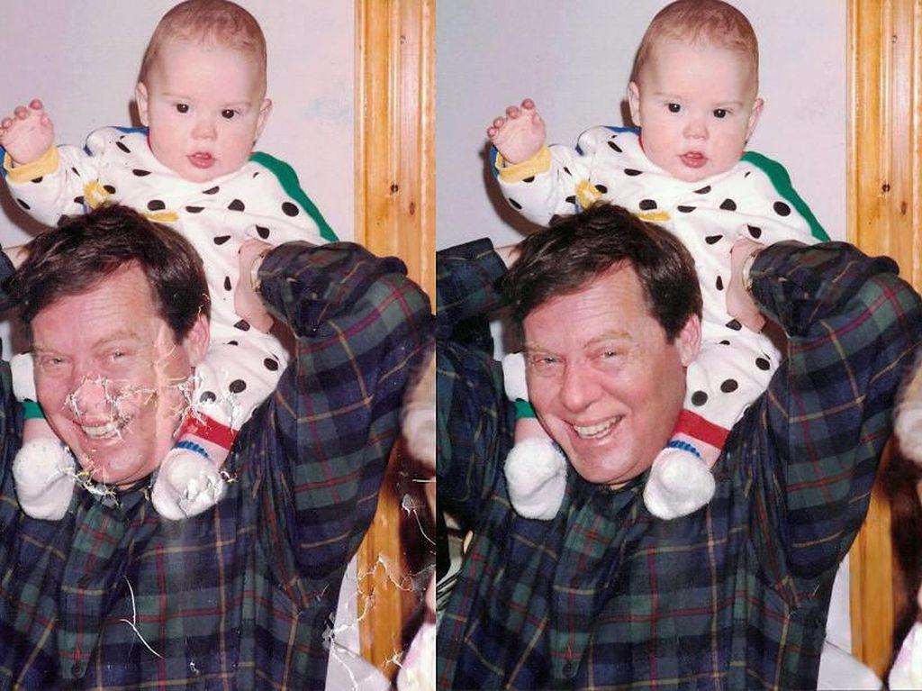Menurutnya foto-foto ini pasti sangat berhara bagi keluarga terlebih jika tidak memiliki foto cadangannya. (Foto: Michelle Spalding)