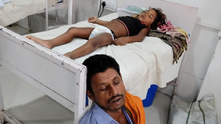 India Diserang Wabah Radang Otak, Ratusan Anak Meninggal