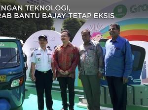 Dengan Teknologi, Grab Bantu Bajay Tetap Eksis di Jakarta