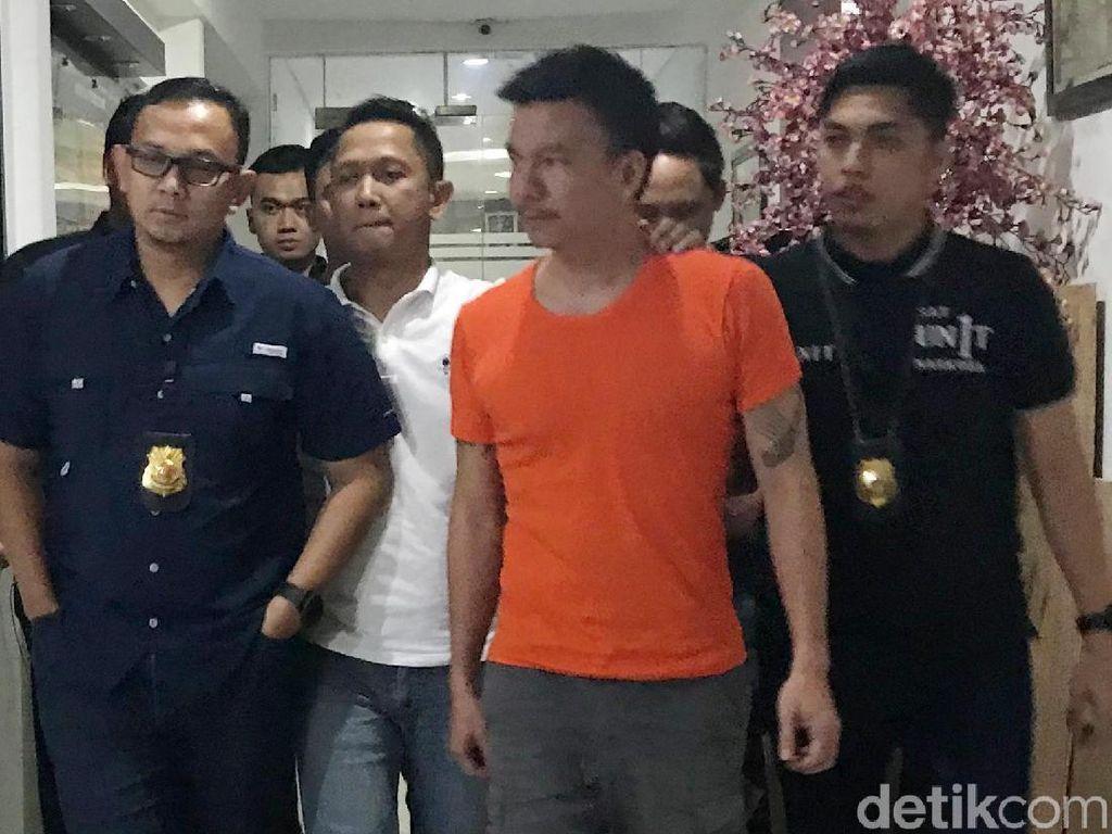 Ditangkap Polisi, Ini Penampakan Jerry Aurum di Polres