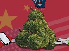 Durian Runtuh Perang Dagang: Vietnam Untung, RI Buntung