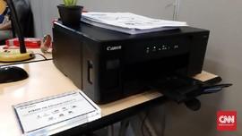 Printer Tinta Isi Ulang Canon Bisa Kirim Data Secara Nirkabel