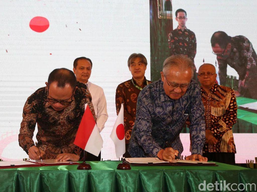 Penandatanganan kerja sama dilakukan di kantor Kemenaker, Jakarta, Selasa (25/6/2019).