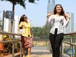Begini Anggunnya Wanita Indonesia Berkebaya di Ruang Publik