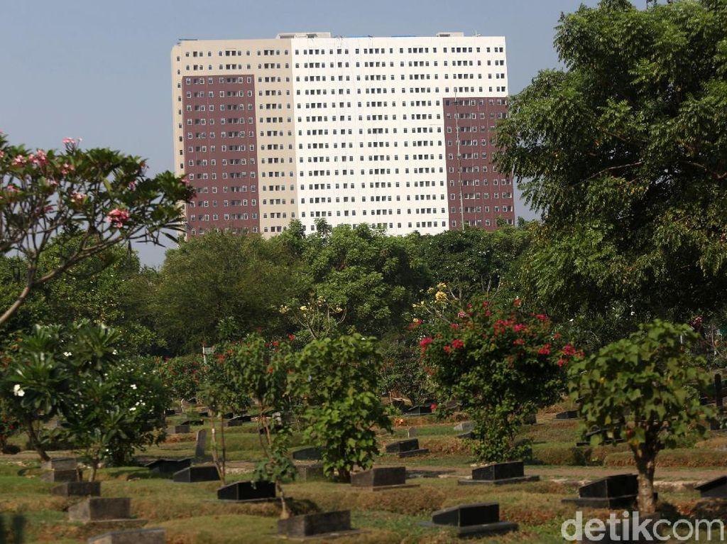 Rumah DP Rp 0 dibangun di atas luas lahan 5.686 m2.
