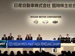 CEO Nissan Minta Maaf pada Pemegang Saham