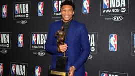 Antetokounmpo Rebut Gelar MVP NBA 2018/2019