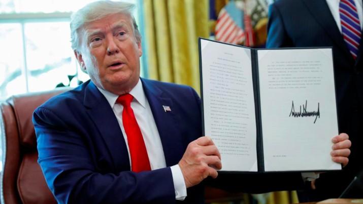 Presiden Amerika Serikat Donald Trump kembali mengkritik Bank Sentral AS The Federal Reserve (The Fed).