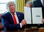 Mayday! Trump Bakal Jatuhkan 'Serangan' Lagi ke Iran