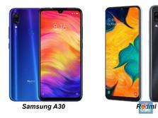Samsung Galaxy A30 Vs Redmi Note 7, Ini Kisaran Harganya?