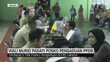 VIDEO: Wali Murid Padati Posko Pengaduan PPDB