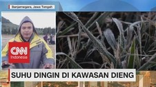 VIDEO: Suhu Dingin di Puncak Gunung Lawu