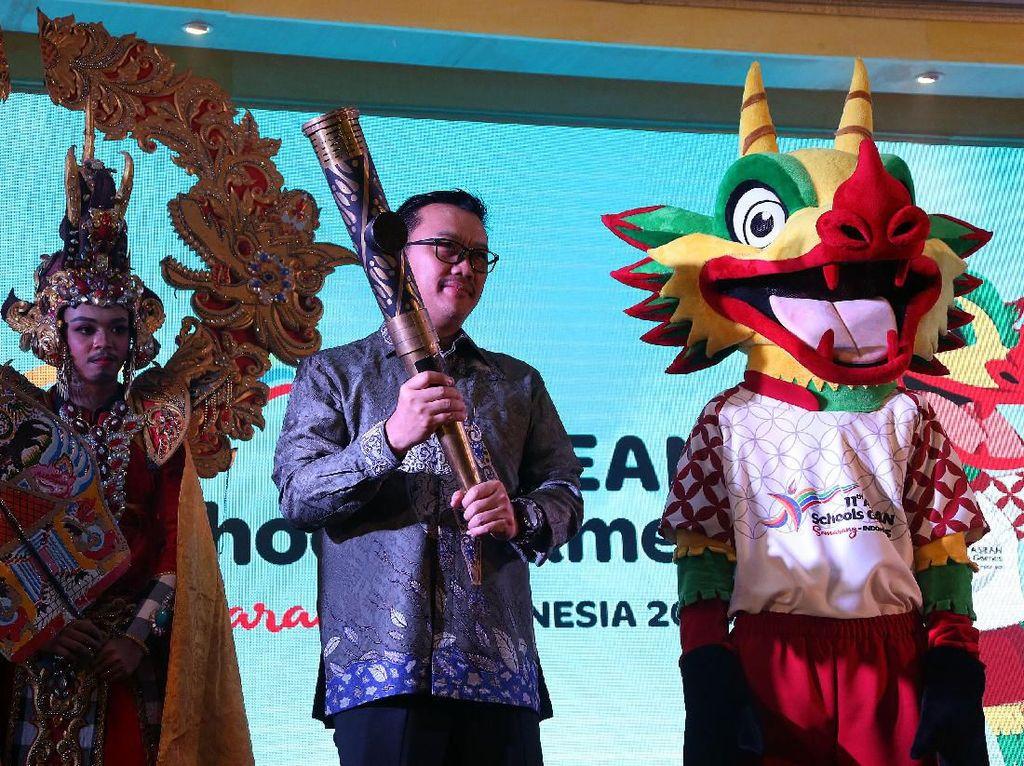 Agus berharap stackholder dari semua kalangan pelaku olahraga, organisasi olahraga, pecinta olahraga dan seluruh mitra industri olahraga mendukung suksenya ASEAN Schools Games 2019. Istimewa.