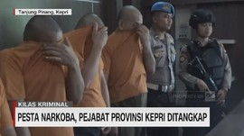 VIDEO: Pesta Narkoba, Pejabat Provinsi Kepri Ditangkap