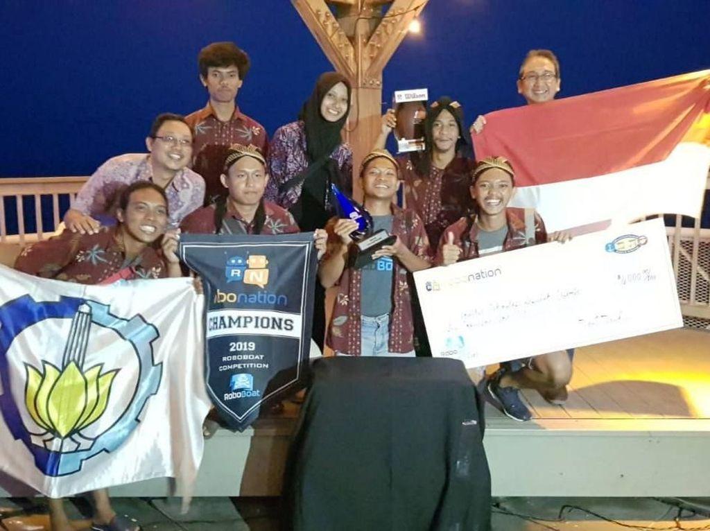 Keberhasilan itu tentunya membuat bangga baik bagi ITS maupun bangsa Indonesia dan sekaligus membawa nama baik tim di kancah internasional.Istimewa/ITS.