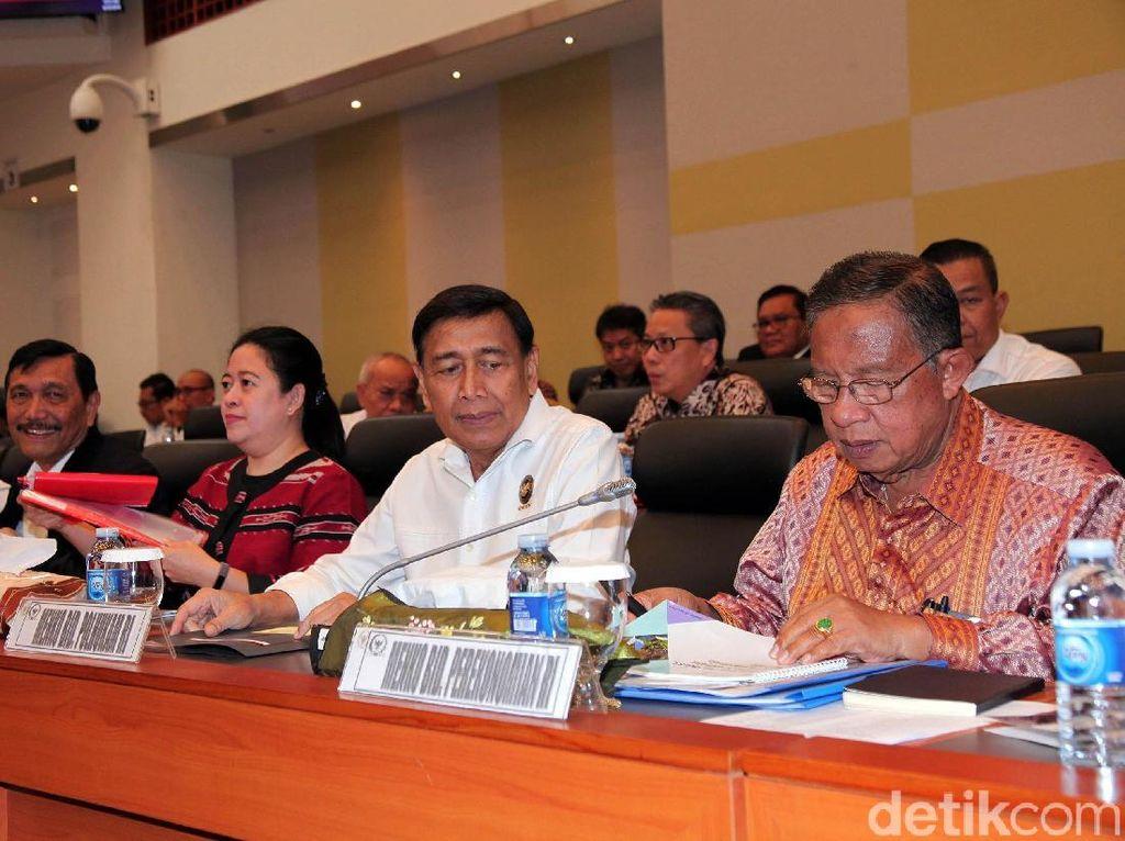 Menteri Koordinator bidang Perekonomian Darmin Nasution mengusulkan anggaran Rp 409.357.649.000. Anggaran yang diusulkan ini lebih rendah dibandingkan pagu anggaran 2019.