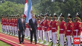 Temui Presiden Argentina, Jokowi Tawarkan Pesawat dan Kereta