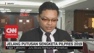 VIDEO: RPH Rampung, MK Siap Putuskan Hasil Gugatan Pilpres