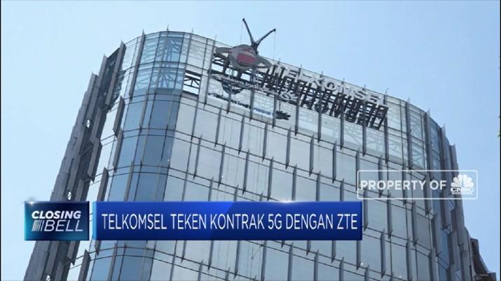 Telkomsel Teken Kontrak 5g Dengan ZTE (CNBC Indonesia TV)