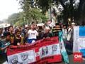 Massa Aksi Tahlil 266 Minta Bahar Smith Dibebaskan