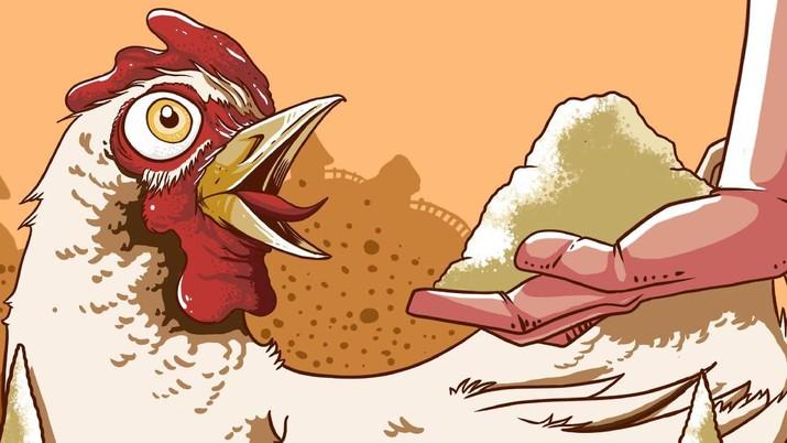 Harga Daging Ayam Pulih, Saham Emiten Unggas Melesat 9%