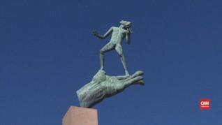 VIDEO: Mengagumi Karya Seni di Taman Patung Swedia